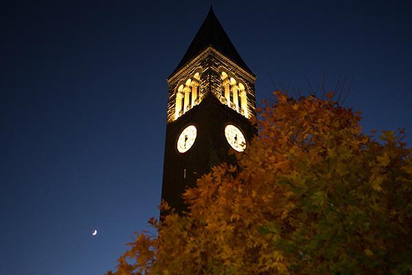 McGraw Tower at Night
